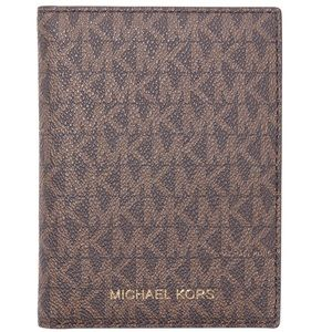 Michael Kors Passport Wallet Brown